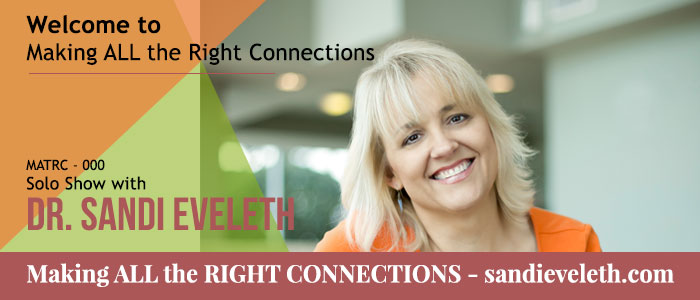 Welcome to Making all the Right Connections Podcast