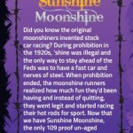 Sunshine Moonshine labels by Clark Brooks